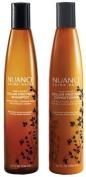 Nuance Salma Hayek Raw Honey Colour Protect Shampoo Plus Raw Honey Colour Protect Conditioner 300ml Each [Bundle of 2 Items]
