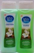 White Rain Moisturising Apple Blossom Shampoo and Conditioner Set with Active Botanicals