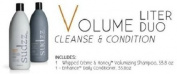 Sudzz Whipped Creme & Honey Volume Shampoo & Enhance Daily Conditioner DUO Litre Set