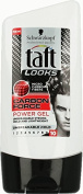 Schwarzkopf Taft Looks Carbon Force Power Gel 150 ml / 5.0 fl oz