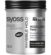 Syoss Invisible Hold - Hair Modelling Paste - 1 can -