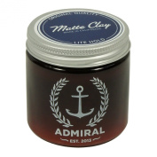 Admiral Clay Pomade (Lite Hold/No Shine) 120ml - Paraben Free