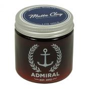 Admiral Clay Pomade (Lite Hold/No Shine) 120ml - Paraben Free