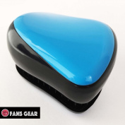 Fans Gear® Fashion Detangling Brush No Tangle Compact Style Hair Comb Brush - Blue