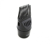 Unbreakable Snap On Thermal Nozzle Black, For handheld dryer, ionic, stylist, barber, salon, dries your hair faster,