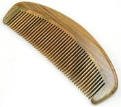 Anti Static Natural Green Sandalwood Comb 15cm