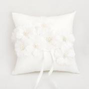 Wedding Ring Pillow Cushion Floral Wedding Bearer Flowers Cushion Pillow