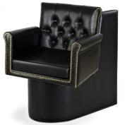 """Bronson"" Black Dryer Chair"