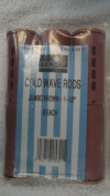 Major Advance Six Jumbo Brown 2.5cm - 1.3cm Cold Wave Rods