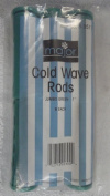 Major Advance Six Jumbo Green 2.5cm Cold Wave Rods