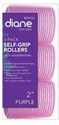 DIANE Self-Grip Rollers 5.1cm Purple 3-Pack