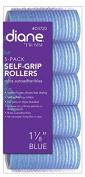 DIANE Self-Grip Rollers 2.9cm Blue 5-Pack