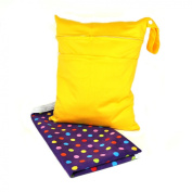 Baby Changing Pad and Wet Dry Nappy Bag Travel Set