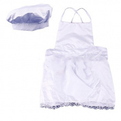 Great Deal(TM) Baby Chef 2 Piece Layette in Culinary, White, 0-10 Months