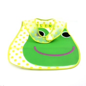 Waterproof Baby Bib Cartoon Pattern Infant Toddler Feeding Care Wrap Random Colour