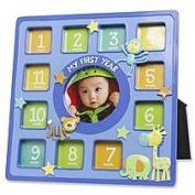 Baby Essentials First Year Frame Animal Collage