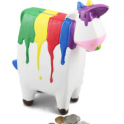 E.a@market Creative Cute Cow Ceramics Coin Bank Children's Piggy Bank