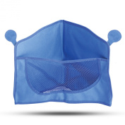 Bula Baby Corner Bath Toy Organiser - 3-sided Design Allows Easy Access to Bathtub Toys- Strong Suction Cups Hold It Firmly in Place - Mesh Design Allows Easy Water Drainage to Prevent Mould - Great Addition to Your Children's Bathroom Accessories