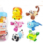 Newborn baby Wind-Up Toys Children's educational clockwork toys of 6 months, winding toys for 0-1 year old baby 6pcs