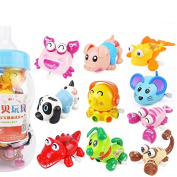Newborn baby Wind-Up Toys Children's educational clockwork toys of 6 months, winding toys for 0-1 year old baby 10pcs