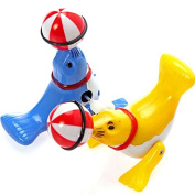 New wind up dolphins sea lions Bath Toy Swimming creative clockwork Baby Kids Bathing Toys,4pcs Sea Lion