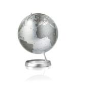 Full Circle Vision Globe (Silver) design by Tecnodidattica
