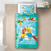 Baby Parrots - SoulBedroom 100% Cotton Bed Set