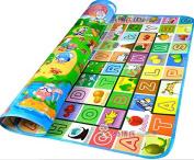 Baby Kids Toddler Crawl Mat Playing Carpet Playmat Picnic Blanket