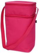 J L Childress 6 Bottle Cooler - One Size - Pink/Light Pink