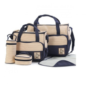 Nanxson Solid Multi-functional Mummy Bag Set Handbags FJET0006