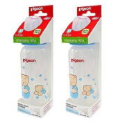 Pigeon Silicone Nipple Classic Size M + Bottle 240ml