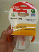 Pigeon Baby Nipple Cup , Spout Cup, Straw Cup -- Step 1,23for 3,5,8 Months + BPA FREE wholesale x 3 pcs. Made in Thailand