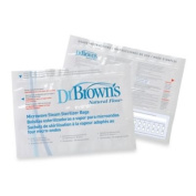 Dr. Brown's Natural Flow Microwave Steam Steriliser Bags