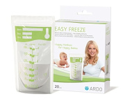 Ardo medical Easy Freeze Breast Milk Storage Bags 20 Count