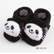 New Cartoon Newborn Baby Girl Boy Anti-slip Socks Slipper Shoes Boots 0-6Months No.15