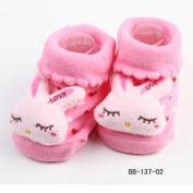 New Cartoon Newborn Baby Girl Boy Anti-slip Socks Slipper Shoes Boots 0-6Months No.2