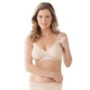 Bravado Essential Embrace Size 38 D/e Nursing Bra In Chai W/almond Piping