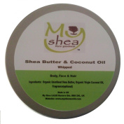 Whipped Organic Shea Butter and Coconut Oil with Essential Oil