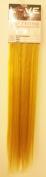 Love Hair Extensions Easy-2-Extend Human Hair Clip In Extensions in 46cm length and in colour Yellow TWIN PACK