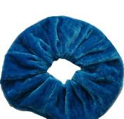 PAIR OF ATL'S EXTRA (15CM) LARGE VELVET HAIR SCRUNCHIES ELASTIC SCRUNCHY HAIR BOBBLES (26 DIFFERENT colours)