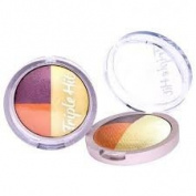 Look Beauty Triple hit trio eyeshadow 70's Sunset shade 5