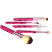 5pcs Professional Makeup Cosmetic Brushes Set Kit Eyelash Brush Face Brush