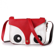 BeautyLife Cute Fox Owl Shoulder Messenger Bag Pu Leather Crossbody Satchel Handbag