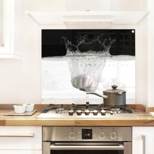 Splash guard for kitchen and stove kitchen glass - Oven splash guard ...