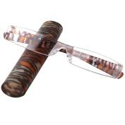 LianSan Brand Lightweight Portable Striped Unisex Reading Glasses Mens Women L3220