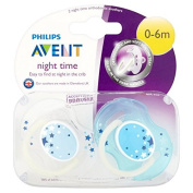Philips Avent Night Soother 0-6m