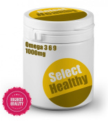 Select Healthy Omega 3 6 9 1000mg - 360 capsules - UK Sourced