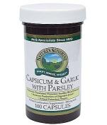 Nature's Sunshine Capsicum & Garlic with Parsley