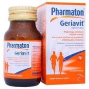 Pharmaton GERIAVIT 30 capsules - Ginseng extract Multi Vitamins and Mineral Complex - Energy Stamina Immune Health Support NEW