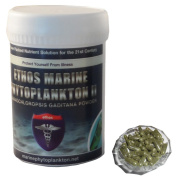 Ethos 100% Pure Organic Marine Phytoplankton - 120 x 330mg Vegan Friendly Capsules - 100% Pure Organic Nannochloropsis Gaditana Powder - Protect Your Body & Reverse the Damage with the Very Best Ethos Natural Healthcare Products Available - Get Started ..